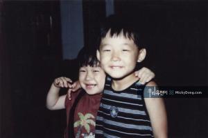 Micky Yoochun baby 1
