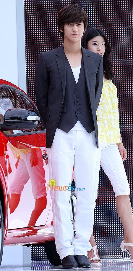 Kim Bum as model KIA