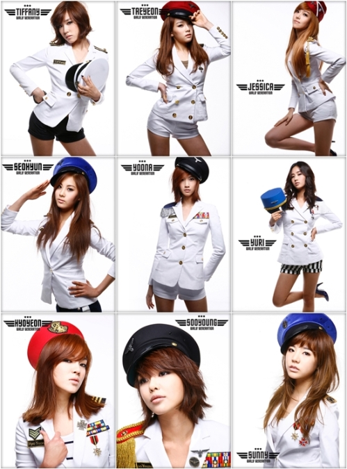 Individual pict of SNSD