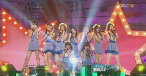 SNSD Comeback @ Music Core